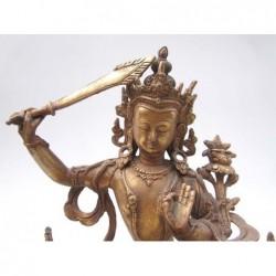 Wenshu Pusa, bodhisattva de...