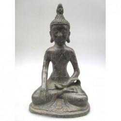 Bronze of Buddha sitting in...