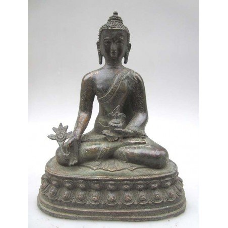 Dark Buddha in Varada Mudra