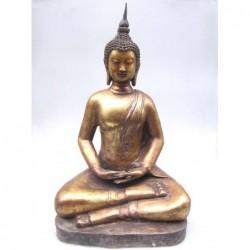 Vergoldeter Bronze-Buddha...