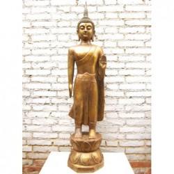 Standing Buddha bronze  in...