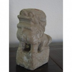 Chinese guardian lion in...