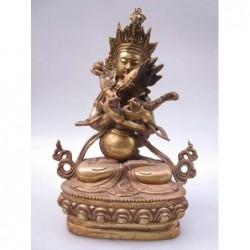 Guan Yin gilt sculpture