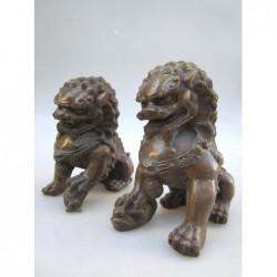 Bronze Fu Löwen Paar  (M)