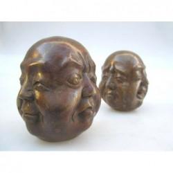 Bronze head of Buddha 4...