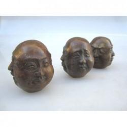 Bronze Kopf von Buddha 4...