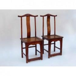 Ming style yoke chairs