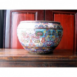 Enamels chinese planter
