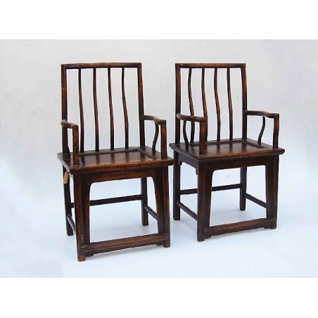"""""""Comb"""" Ming style Chairs (sold by unit)"""
