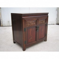 Two doors antique cabinet...