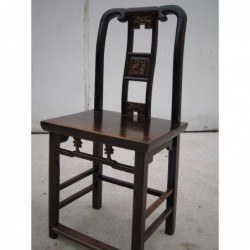 Chinese carved chair