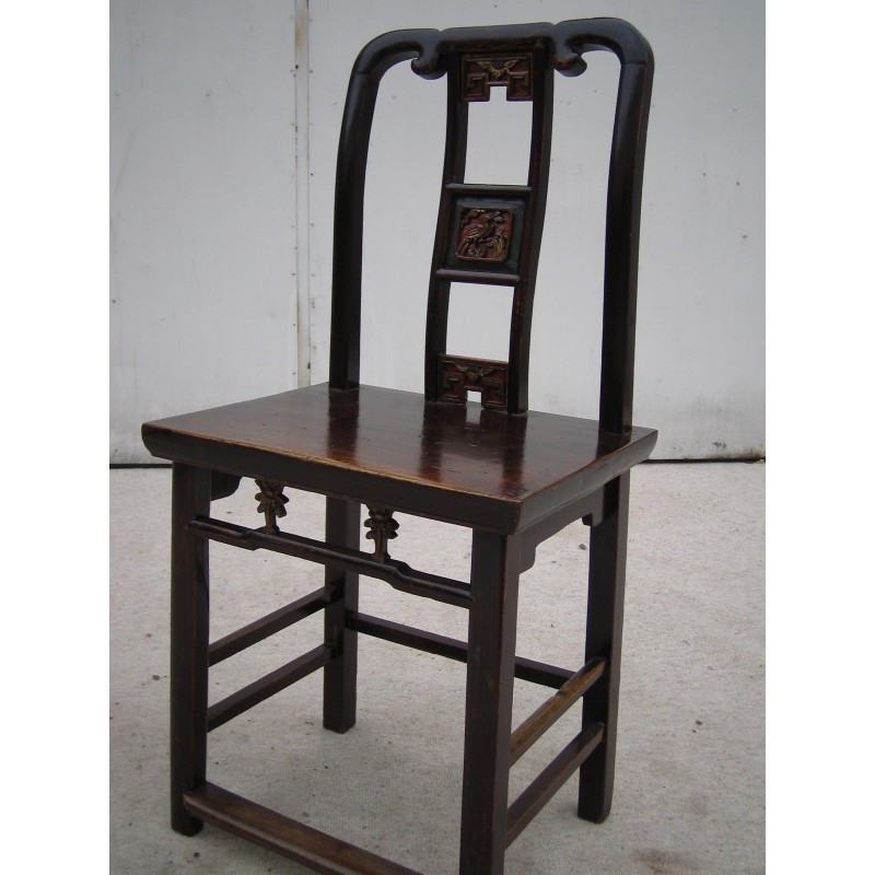 Antique Chinese carved chair