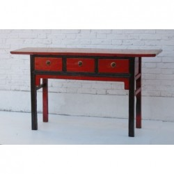 Antique mongolian console...