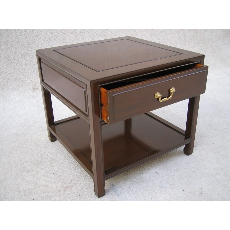 Side Table Chinees.Chinese Rosewood Side Table 54cm