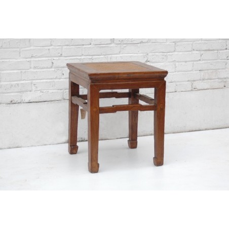 Ming style solid wood stool 40cm