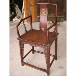 Chine ancienne. Fauteuil...