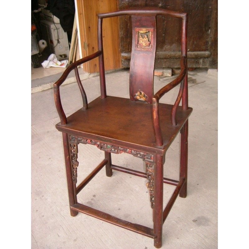 Old China. Official chinese armchair