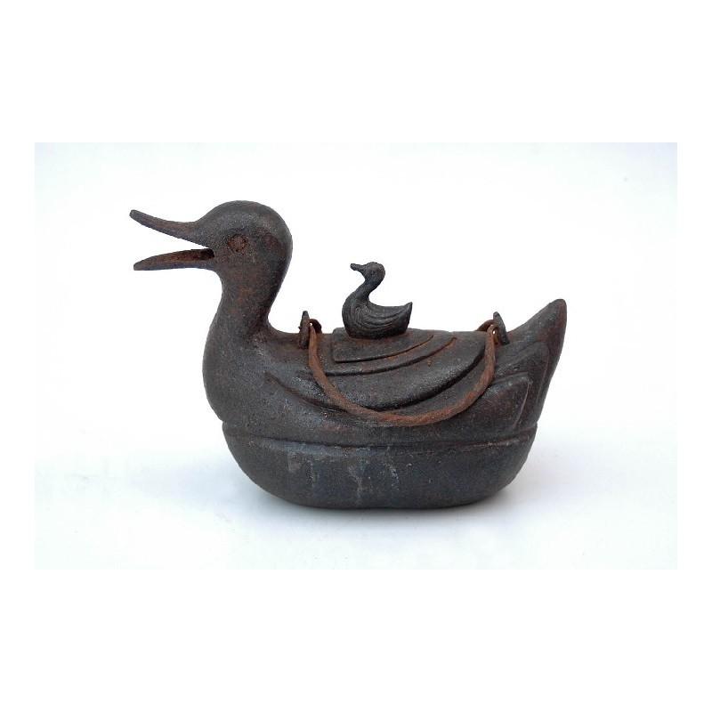 Théière Qing en forme de canard