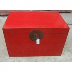 Chinesiche rote Truhe 83 cm