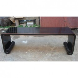 Chinese black coffee table...