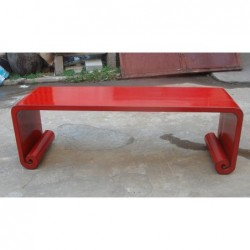 Chinese red coffee table...