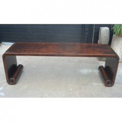 Chinese elm coffee table...