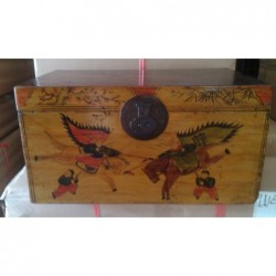 Chinese book trunk 65 cm