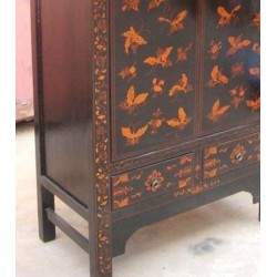 Butterflies chinese cabinet 80cm