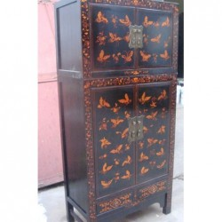 Black chinese cabinet with...
