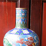 Technik der Peking Cloisonne-Emaille Waren