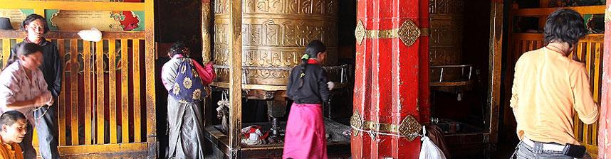 Bannière Tibet et Mongolie intérieure