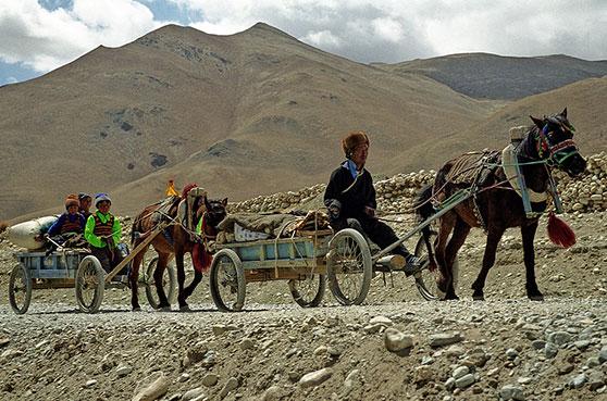 Caravane Tibet