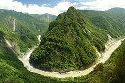 Le canyon du yarlung Tsangpo