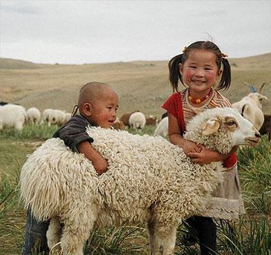Enfants mongol