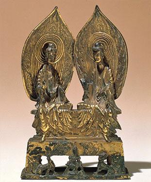 Sakyamuni and prabhutaratna buddhist art