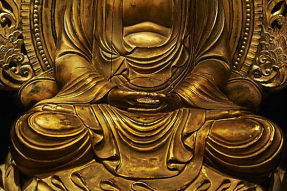 Buddhism Dyana-mudra