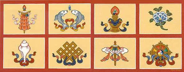 Symboles bouddhiques