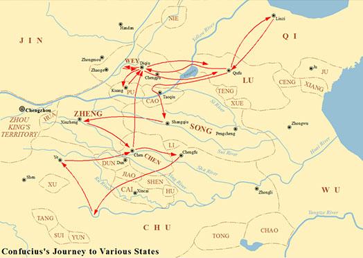 Voyage de Confucius