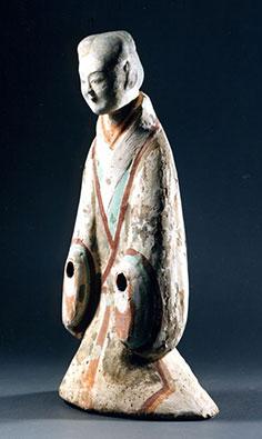 Figurines en terre cuite sous la dynastie Han