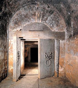 Tombe sous la dynastie Han