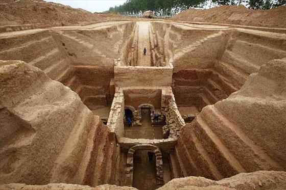 Tombes sous la dynastie Han