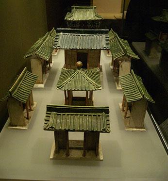 Maquette sous la dynastie Han