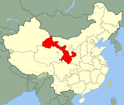 Province de Gansu