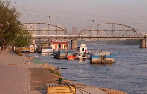 Pont de fer de Zongshan