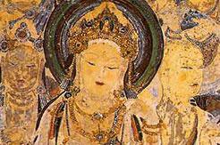 Fresque dans les grottes de Duhuang