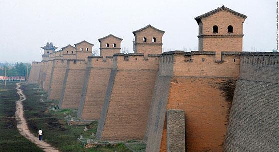 Murs de la ville de Pingyao