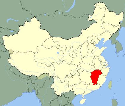 Province de Jiangxi