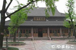 Temple des 7 pagodes à Ningbo